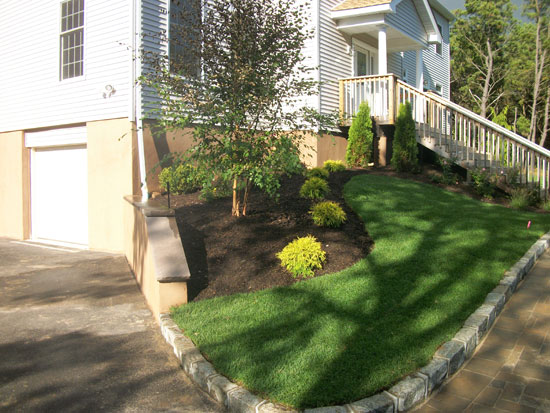 Landscaping Ideas For Uneven Yard : Hamptons landscaping design contractor in long island